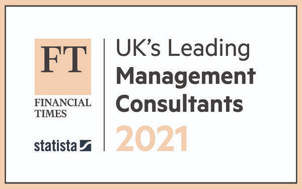 twentyfifty awarded Bronze for sustainability in FT list of top UK management consultancies