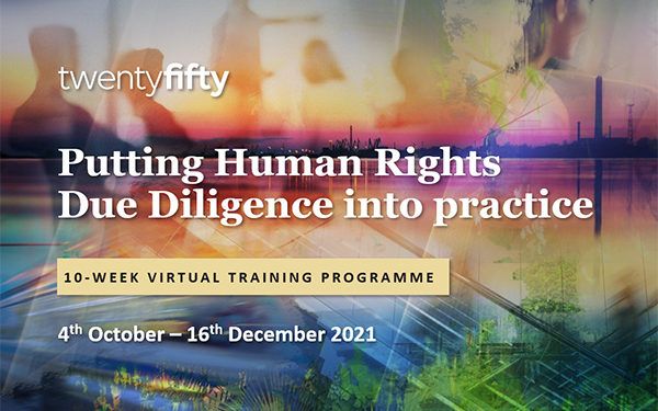 Training: Putting Human Rights Due Diligence into Practice