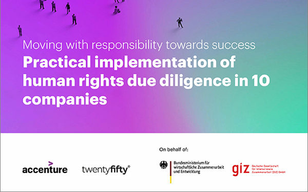 Ten pioneering global companies share top tips for implementing human rights due diligence